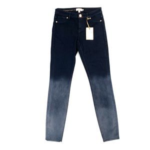 Ted Baker Classic Skinny Jeans Black Ombre NEW